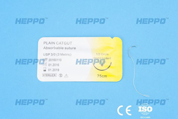 fast absorbing gut suture Plain Catgut Suture Featured Image