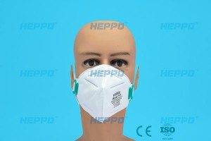 N95 Mask Folded Type Mei Valve