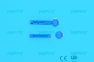 single use disposable lancets Blood Lancet With Plastic Handle