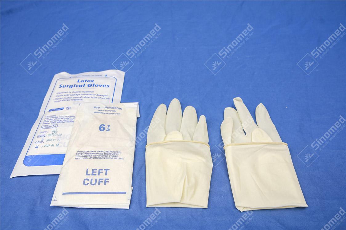 mănuși din latex fără pudră de imagine Mănuși chirurgicale recomandate
