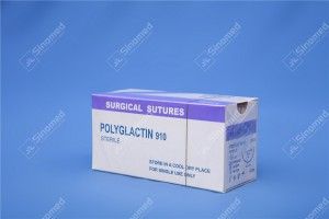 type of surgical suture Poly Glycolide-Co-l-Lactide Suture