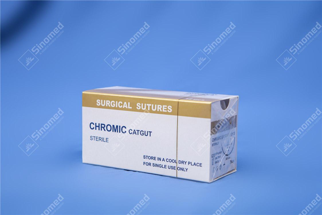 cromic material de intestine de sutura cromic catgut Sutura Imagine recomandate